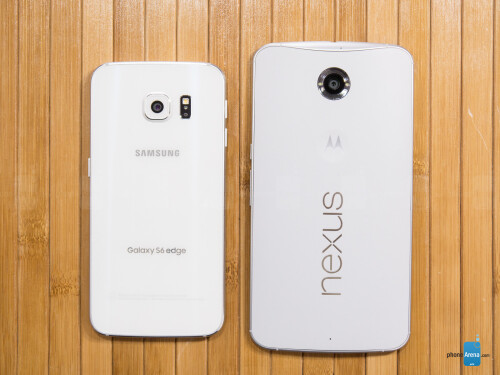 Samsung Galaxy S6 edge vs Google Nexus 6
