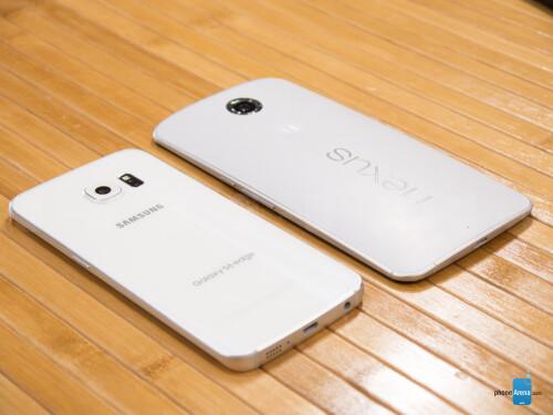 Samsung Galaxy S6 edge vs Google Nexus 6