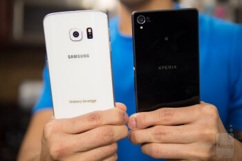 Samsung Galaxy S6 edge vs Sony Xperia Z3