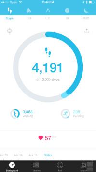 The companion Alcatel OneTouch Move app