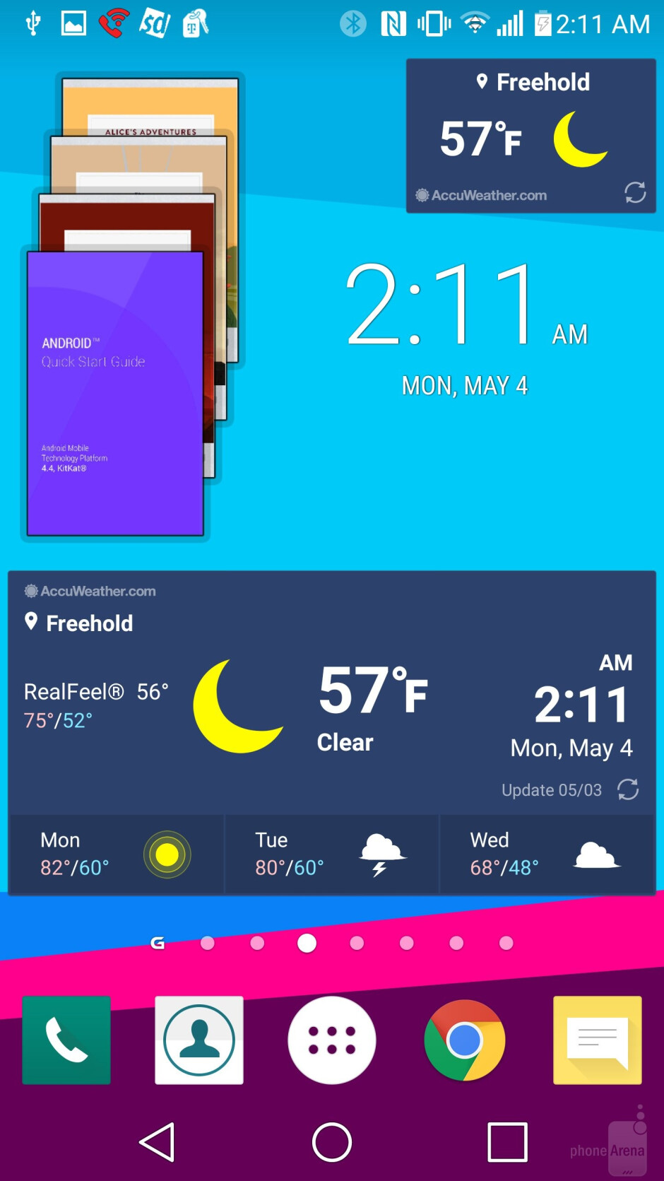 The new LG UX 4.0 experience of the G4 - LG G4 vs HTC One M9