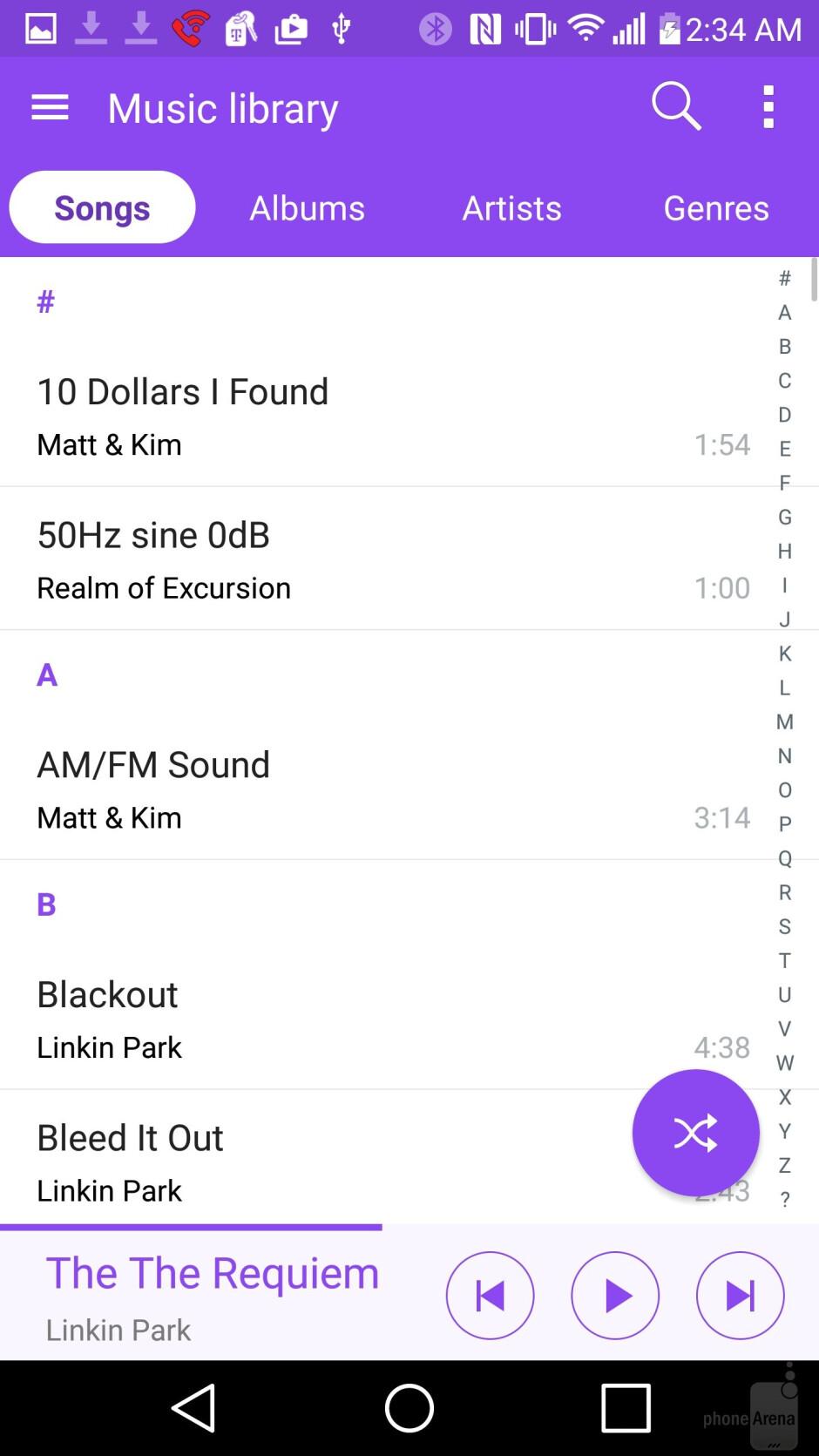 LG G4 - Music players - LG G4 vs HTC One M9