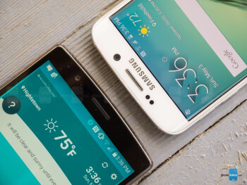 LG G4 vs Samsung Galaxy S6 edge