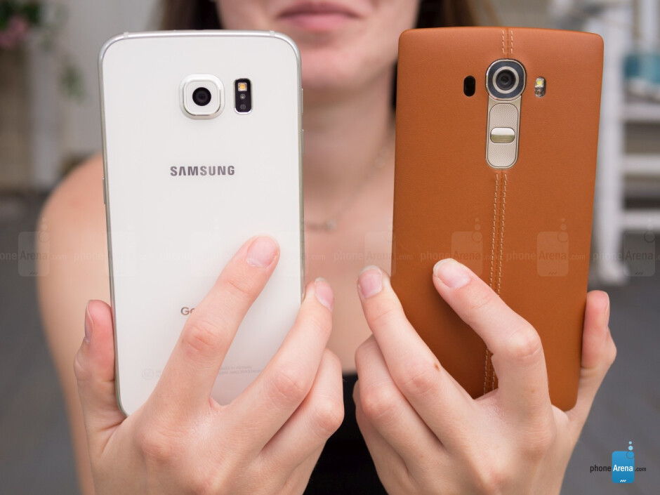 LG G4 vs Samsung Galaxy S6