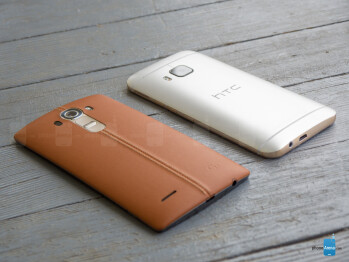 LG G4 vs HTC One M9