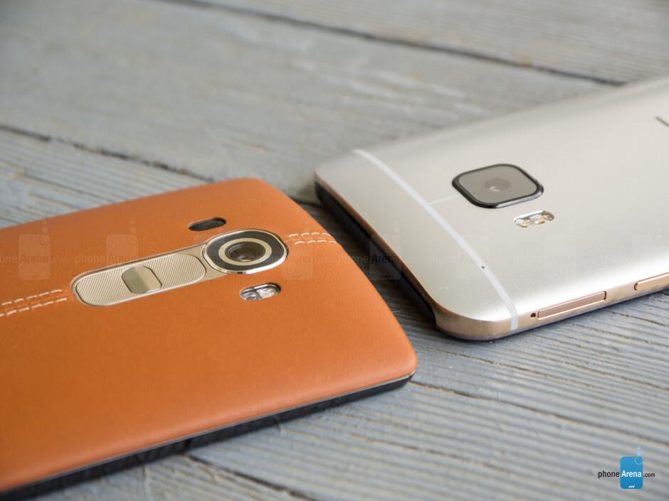 LG G4 vs HTC One M9
