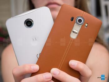 LG G4 vs Google Nexus 6