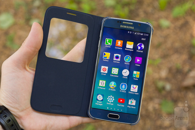Samsung Galaxy S6 official S View Cover review