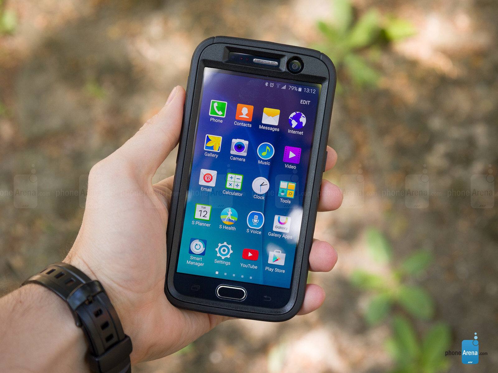 buy online d3314 38890 OtterBox Defender Rugged for Samsung Galaxy S6 case review - PhoneArena