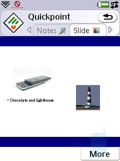 PowerPoint file - Sony Ericsson P1 Review