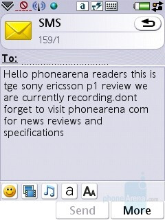 Sony Ericsson P1 Review
