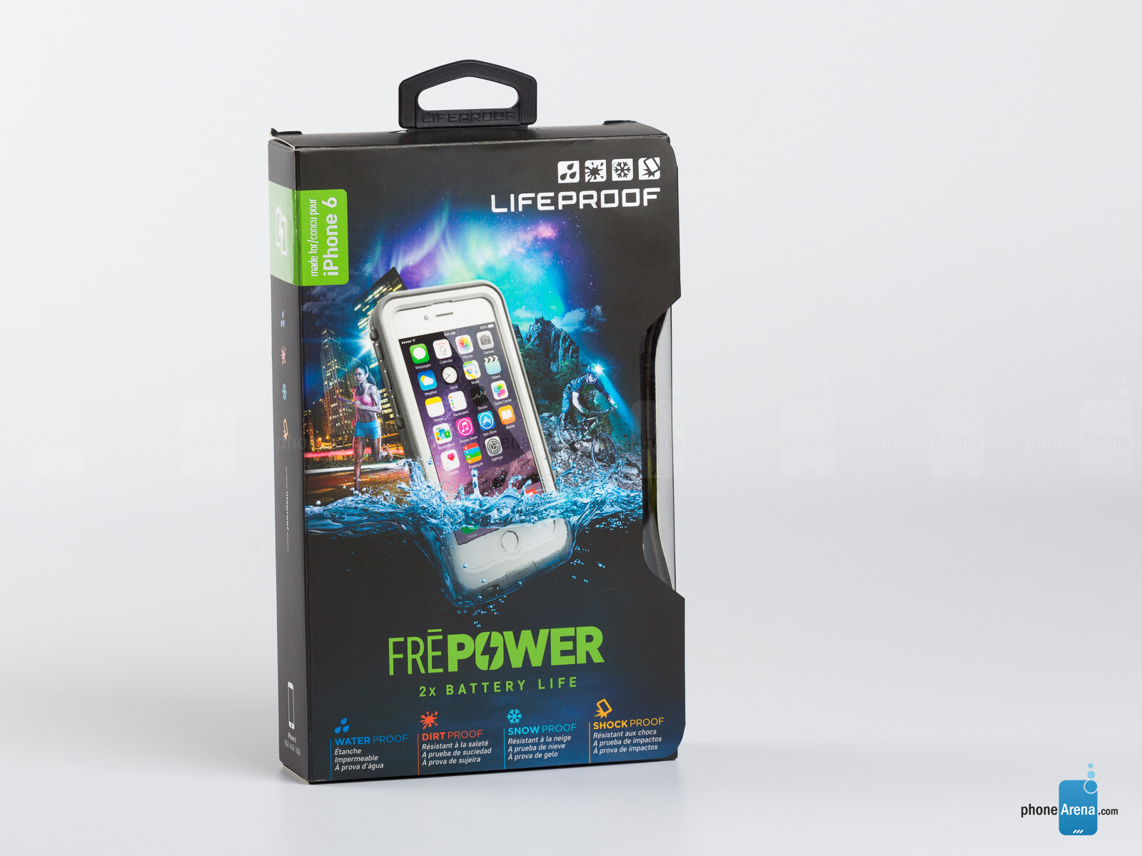 new products 7057d 152da Lifeproof Frē Power battery case for iPhone 6 review - PhoneArena