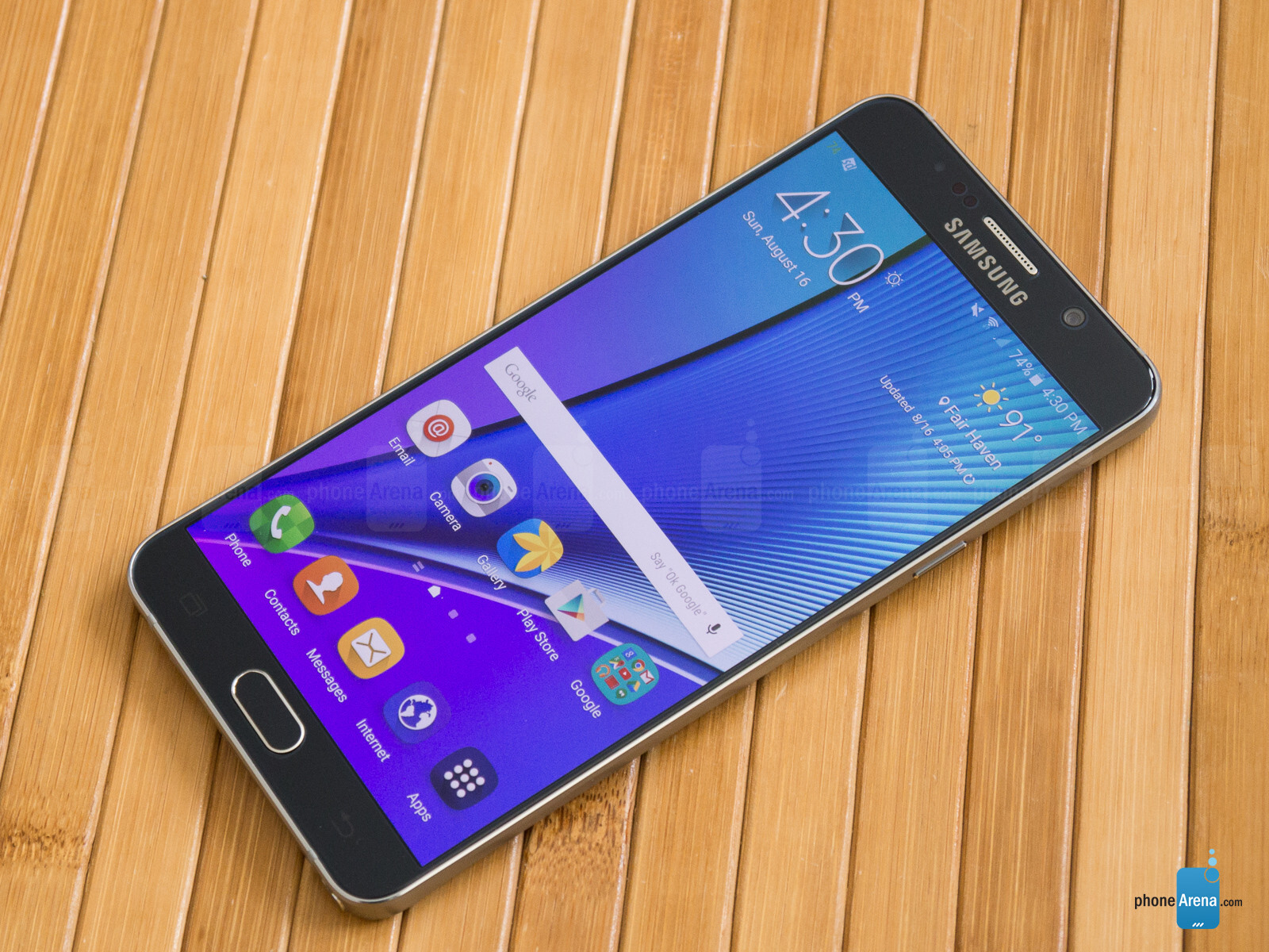 Samsung Galaxy Note 5 Review - PhoneArena