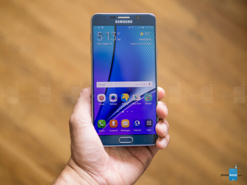 Samsung Galaxy Note 5 photos