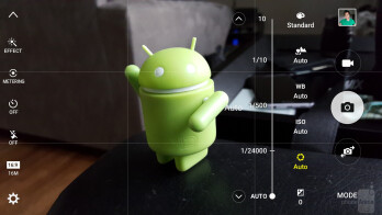 Camera app interface of the Samsung Galaxy S6 edge+ - Samsung Galaxy S7 edge vs Samsung Galaxy S6 edge+