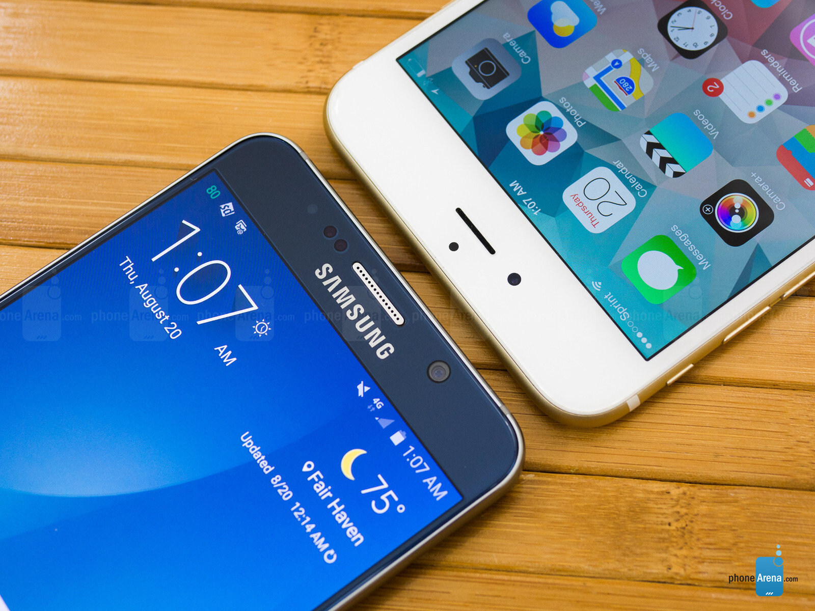 Samsung Galaxy Note5 vs Apple iPhone 6 Plus - PhoneArena