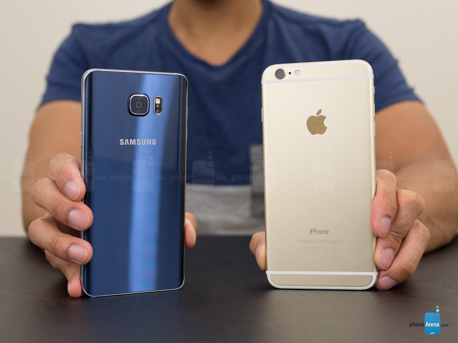 Samsung Galaxy Note5 vs Apple iPhone 6 Plus - Call quality fb4386143c6
