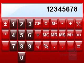 Calculator - RIM BlackBerry 8830 Review