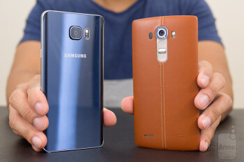 Samsung Galaxy Note5 vs LG G4