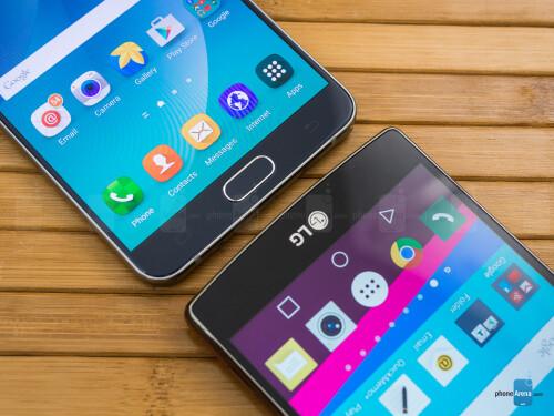 Samsung Galaxy Note5 vs LG G4