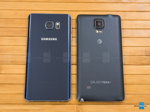 Samsung Galaxy Note5 vs Samsung Galaxy Note 4