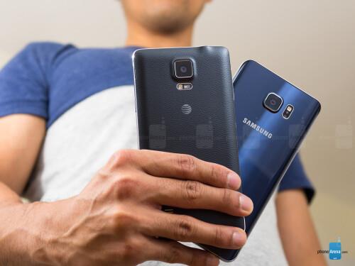 Samsung Galaxy Note5 vs Samsung Galaxy Note 4
