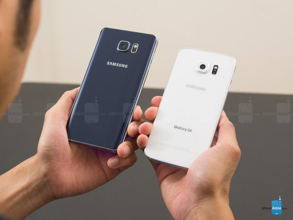 Samsung Galaxy Note5 vs Samsung Galaxy S6