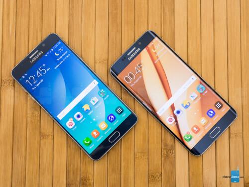 Samsung Galaxy Note5 vs Samsung Galaxy S6 edge+