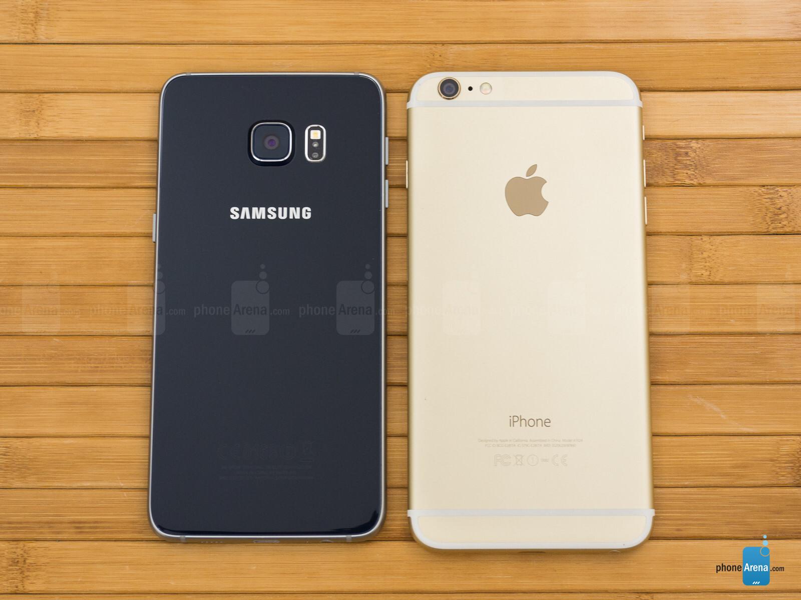 Samsung Galaxy S Edge Vs Iphone  Plus