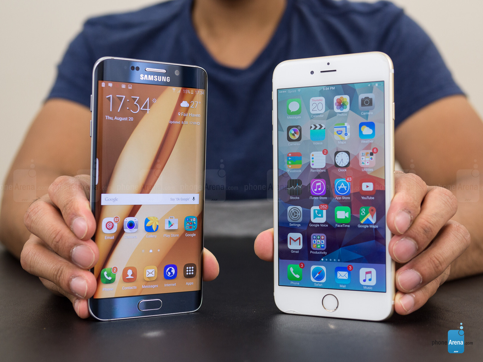 samsung galaxy s6 edge vs apple iphone 6 plus. Black Bedroom Furniture Sets. Home Design Ideas