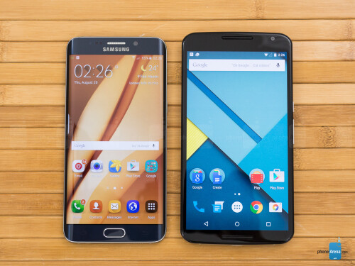 Samsung Galaxy S6 edge+ vs Google Nexus 6
