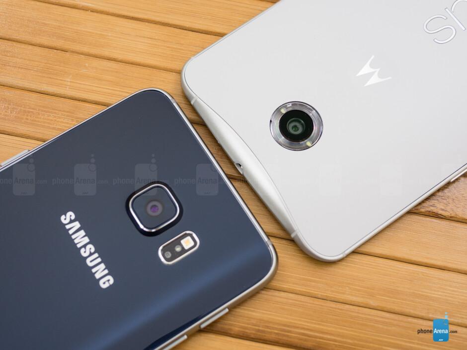 Samsung Galaxy S6 edge+ vs Google Nexus 6