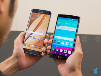 Samsung Galaxy S6 edge+ vs LG G4