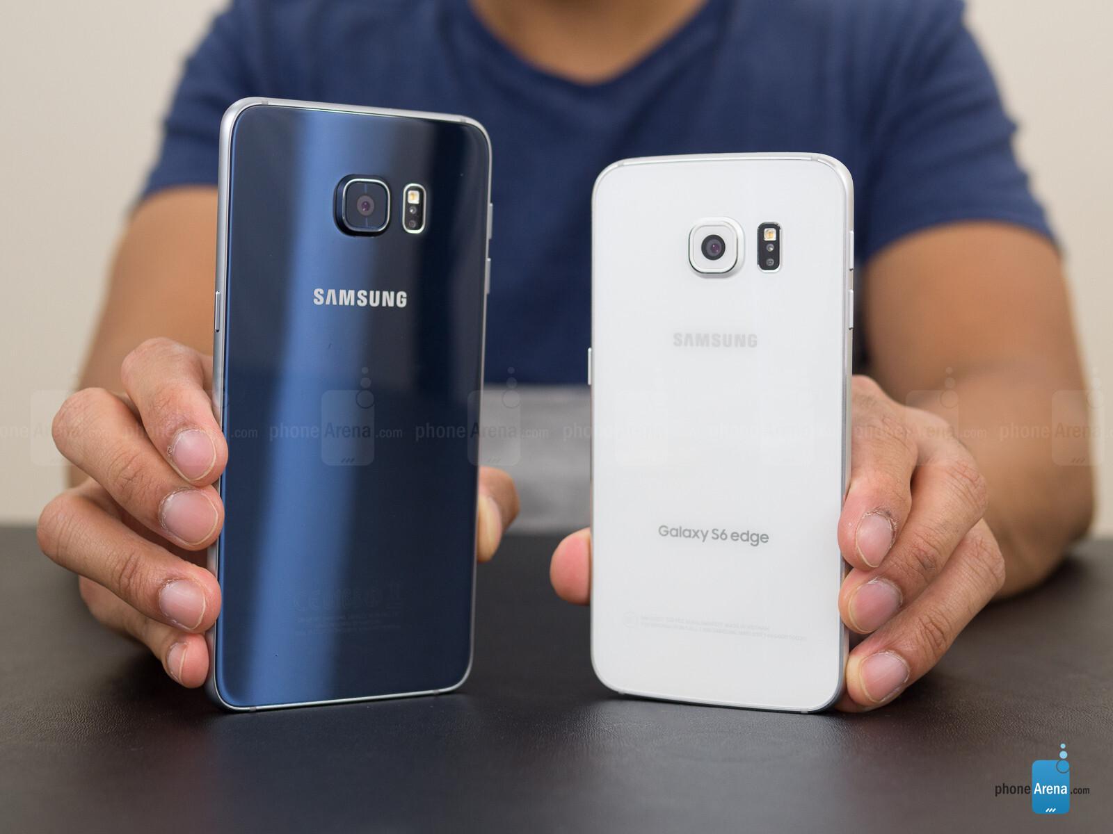 Samsung Galaxy S6 edge+ vs Samsung Galaxy S6 edge