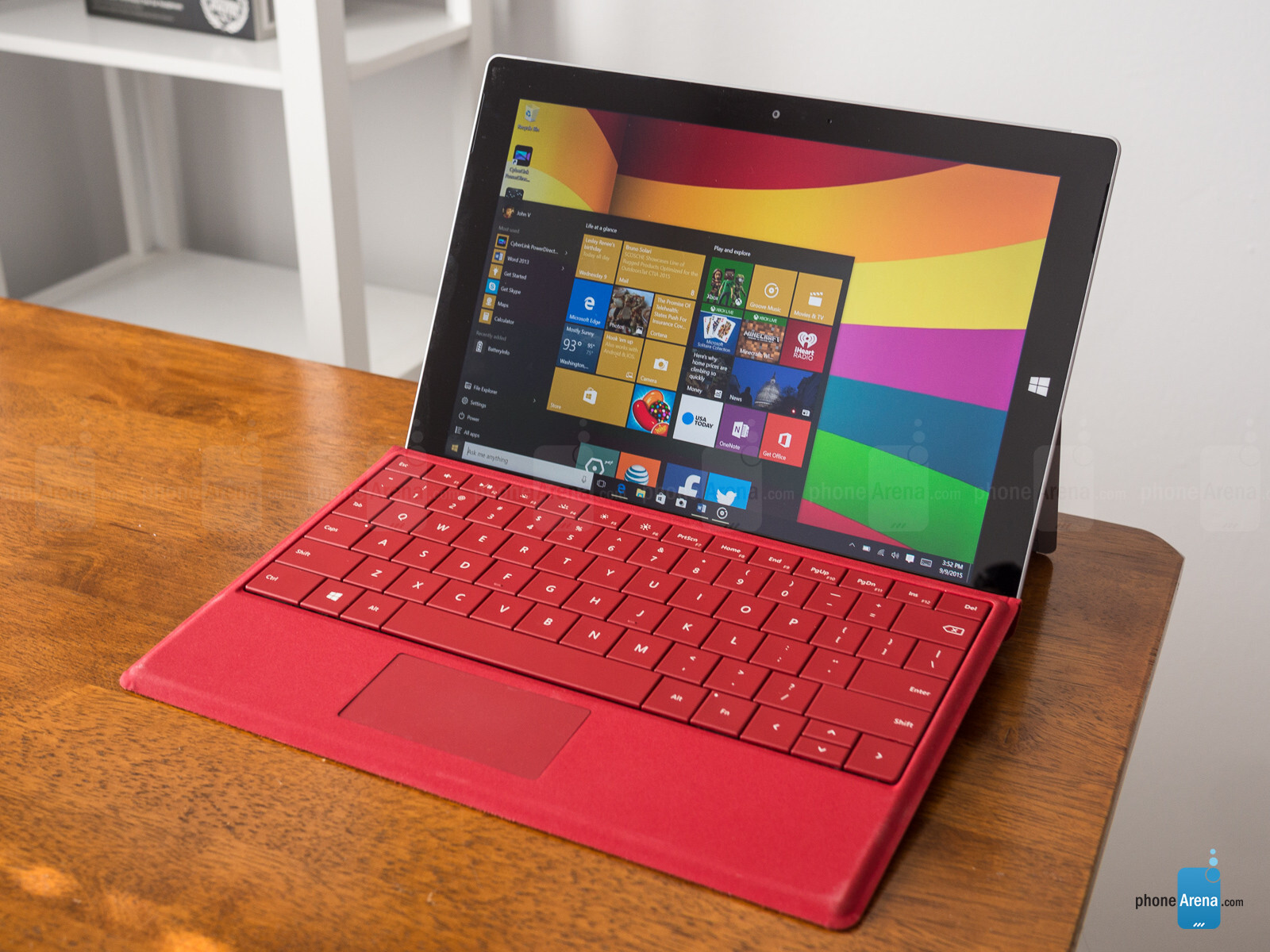 microsoft surface 3 lte review phonearena. Black Bedroom Furniture Sets. Home Design Ideas