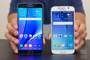 Galaxy Note5 vs Samsung Galaxy S6