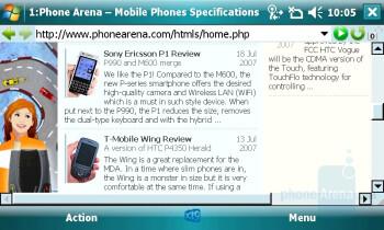 Opera - Toshiba Portege G900 Review