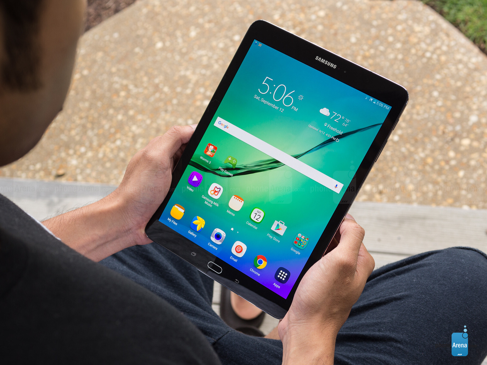 samsung galaxy tab s2 8 0 and 9 7 start getting android 7. Black Bedroom Furniture Sets. Home Design Ideas