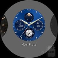 UI of the Huawei Watch