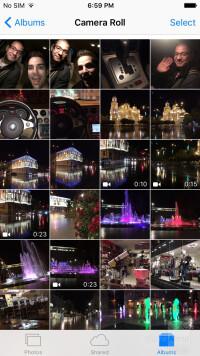 The Photos app