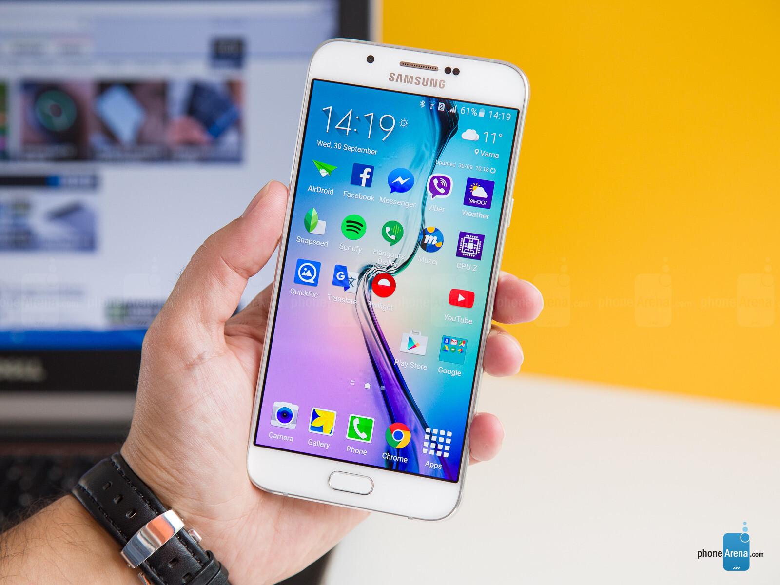 Photos For Samsung Galaxy A8 Review
