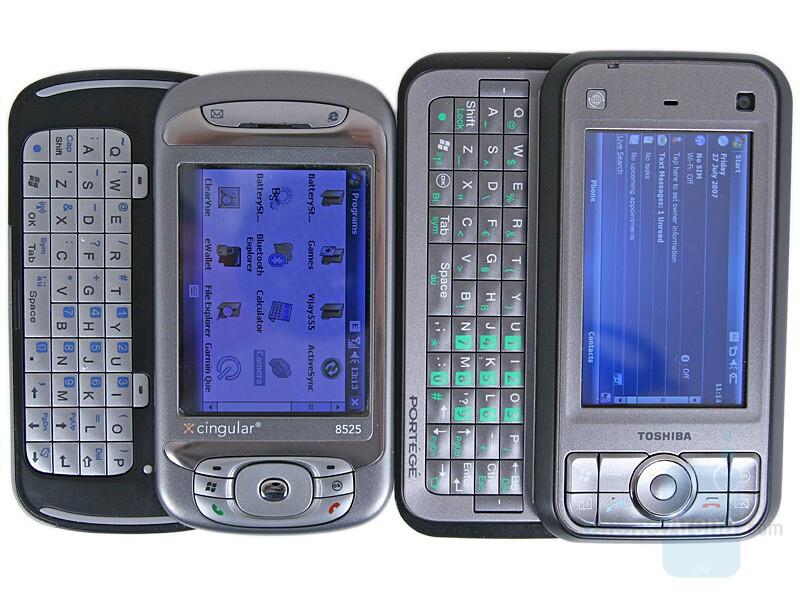 left - HTC TyTN, right - Toshiba G900 - Toshiba Portege G900 Review