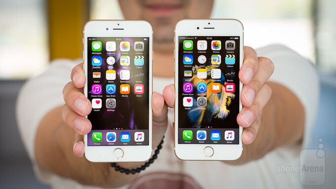 Apple iPhone 6 and Apple iPhone 6s
