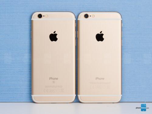 Iphone 6 vs iphone 6s phonearena
