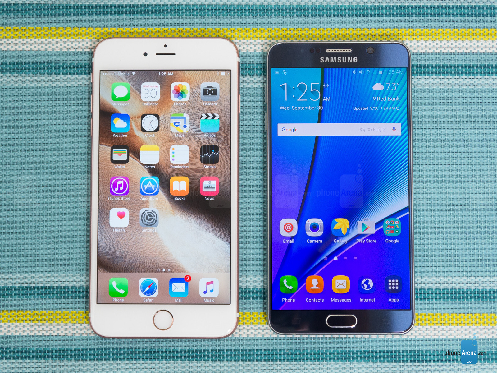 s for Apple iPhone 6s Plus vs Samsung Galaxy Note5