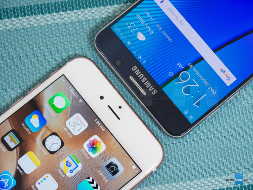 Apple iPhone 6s Plus vs Samsung Galaxy Note5