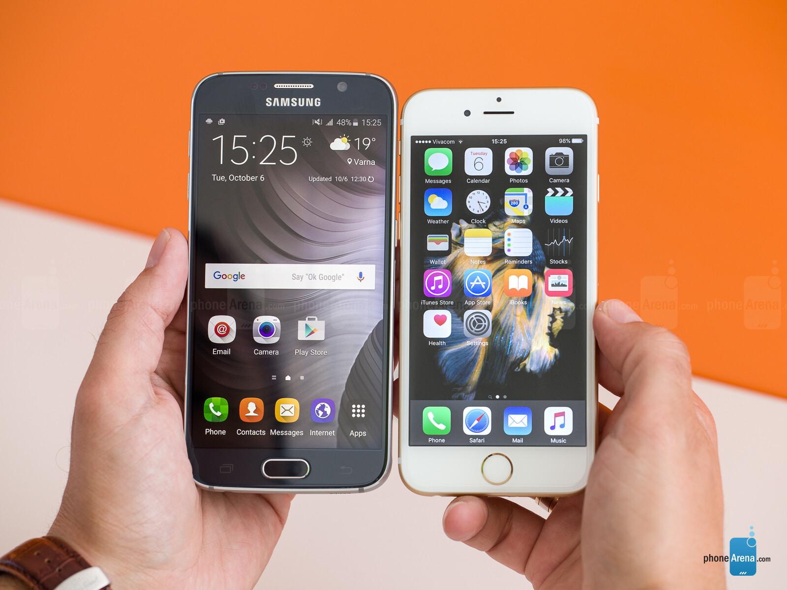 iphone 6s vs samsung s6