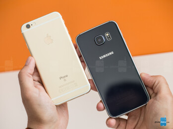 Apple iPhone 6s vs Samsung Galaxy S6