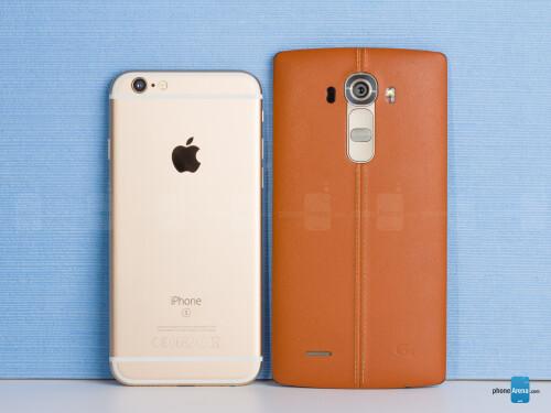 Apple iPhone 6s vs LG G4