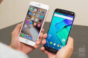 Apple iPhone 6s Plus vs Motorola Moto X Pure